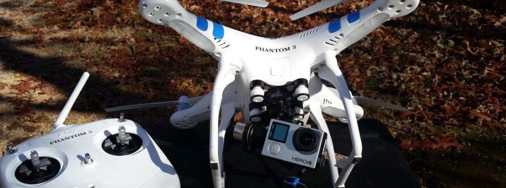 Съемка с камеры квадрокоптера