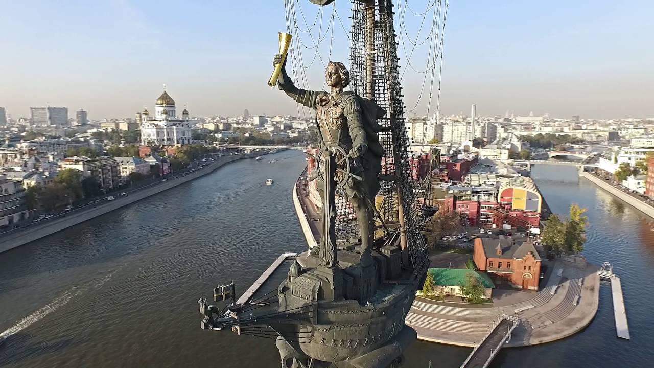 Аэросъемка в Москве