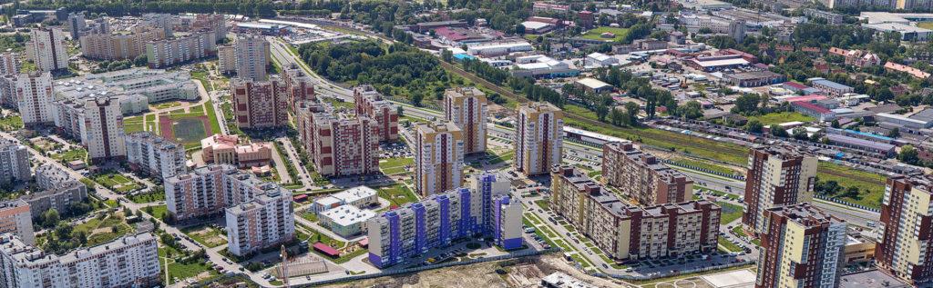 Съемка панорам с квадрокоптера