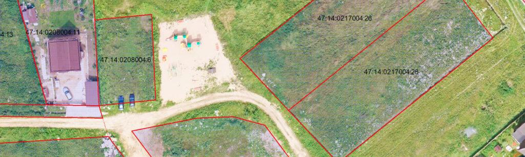 Аэрофотосъемка земельных участков