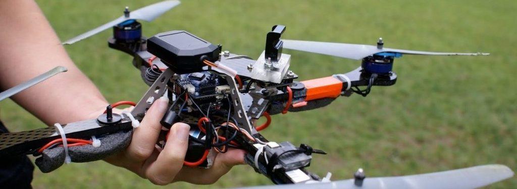 Аэросъемка камерой с коптера