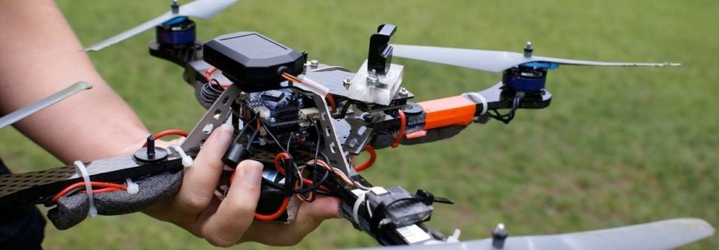 Съемка видео с квадрокоптера