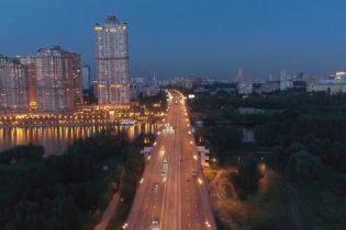 Съемка города с квадрокоптера