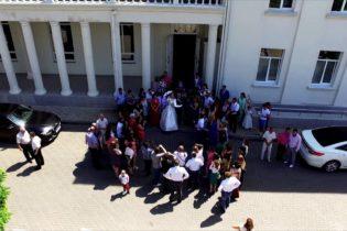 Съемка свадеб с воздуха