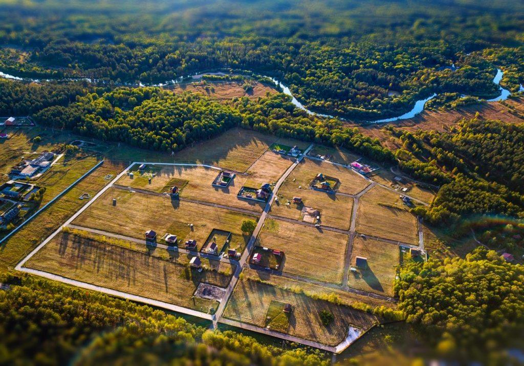 Аэрофотосъемка поселка