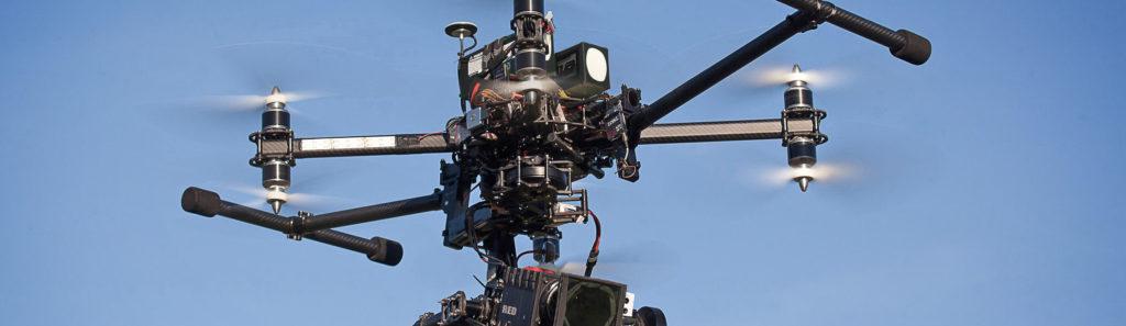 Съемка с высоты квадрокоптером